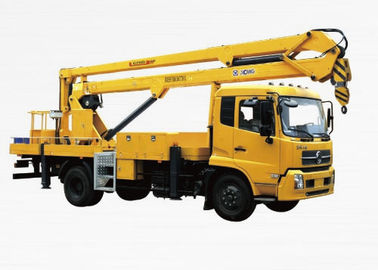 Durable XCMG Basket Truck Mounted Lift , 5 Ton Aerial Platform Truck