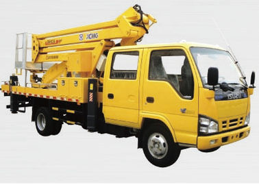 Construction Truck Mounted Lift , 23.2m Vehicle Mounted Boom Lift