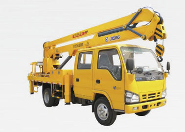 Truck Mounted Lift 9.7m , 2 Ton Truck Mounted Aerial Lift