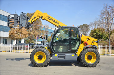 China Yellow Small Telescopic Forklift Versatile Lifting Handling Equipment High Efficiency factory