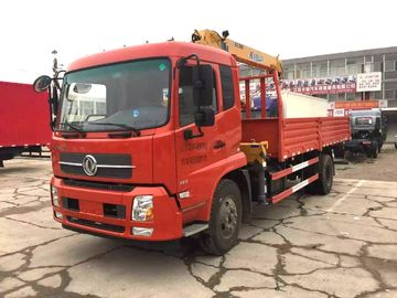Knuckle Cargo truck bed mounted crane , 5 Ton Light Truck Loader Crane