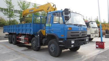 China 12 Ton Transportation Telescopic boom crane truck / Truck Mounted Crane factory