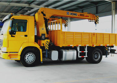 China 8T Boom Truck Crane Cargo Crane 3770kg Truck Safety Transportations factory