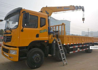 China 8 ton  XCMG SQS200 III  Boom Truck Crane Telescopic Truck Bed Crane factory