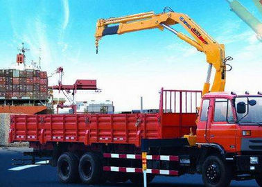 Portable hydraulic truck mounted cranes 14000kg Knuckle Boom XCMG