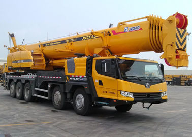 130 Ton Construction All Terrian crane equipment XCT130 , 80km / h
