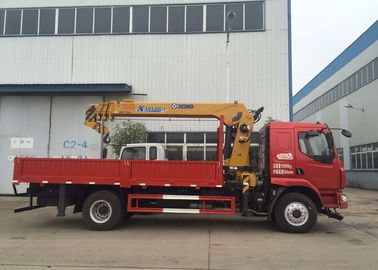 China 8T Truck Mounted Crane XCMG Telescopic Boom Truck Crane  CE ISO factory