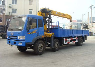 China Move Effective  8 Ton Telescoping Boom Crane, Hydraulic Truck Mounted Crane for Sale factory