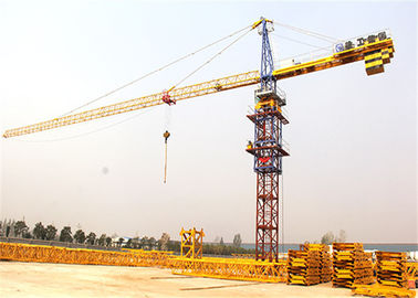 China PLC Control 50m 4 Ton Luffing Construction Tower Crane XGT63K factory