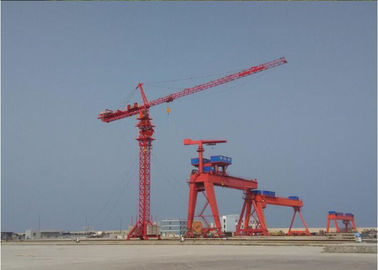 China PLC Control 12 Ton 70m Luffing Construction Tower Crane  XGT280 factory
