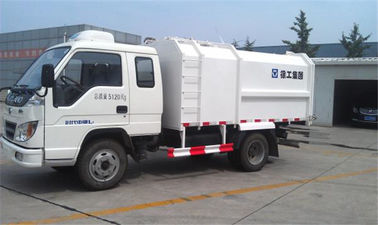 China XCMG Garbage Compactor Truck Self Compress Self Dumping For Collecting Refuse factory
