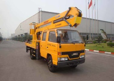 XCMG Bucket Articulating Truck Mounted Lift , 2T Lifting Capacity