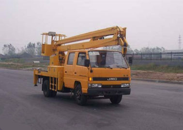 China XCMG articulating boom crane / basket crane truck 2T Lifting Capacity factory