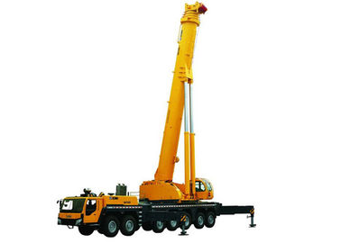 Durable Single-Cylinder Hydraulic Mobile Crane , 7-Axle All Terrian Crane QAY400