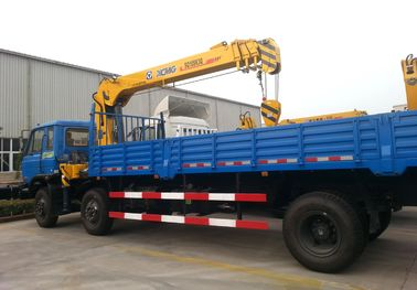 10T XCMG Mobile Telescopic Boom Truck Mounted Crane With Wire Rope