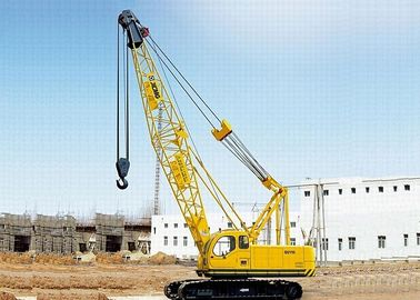 China Safe  Boom Truck Mobile Hydraulic Crawler Crane QUY50 Swing Jib 4t factory
