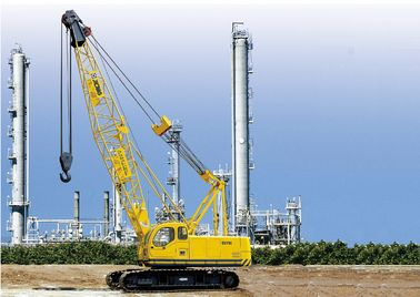 China XCMG brand Durable Mobile Hydraulic Crawler Crane QUY50 , Tracked Lattice Boom Crawler Cranes factory
