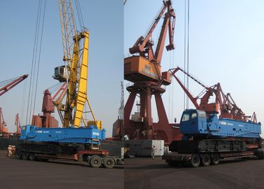 Heavy Lifting QUY450 Hydraulic Crawler Crane, 60 Ton And Jib Length 35m