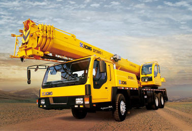Durable Construction Site QY35K5 Truck Crane Hydraulic Mobile Crane With Torque Limiter