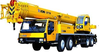Heavy Machine Fast  Load Sensing QY70K Hydraulic Mobile Crane Safety Telescoping with High Quality