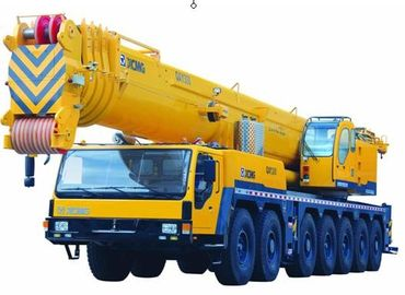 Durable 7-Axle Chassis Hydraulic Mobile Crane , 5-Axle Steering QAY300 All Terrain Crane
