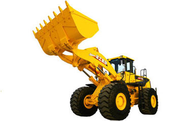 LW800KN Wheel Loader Earthmoving Machinery With Dual-pump Combined Technology