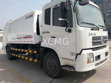 China Garbage Compactor Truck Special Purpose Vehicles , Self Dumping Rear Loader Garbage Trucks factory