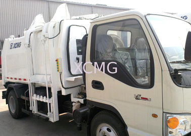 China PLC Hydraulic System Special Purpose Vehicles Garbage Compactor Truck factory