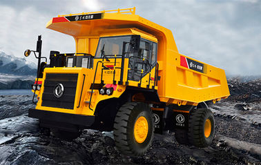 New Energy Coal Unloading System Articulated Dump Truck 45 Ton For Mining