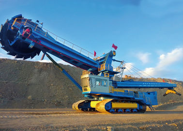 DWY3000 coal loading unloading full hydraulic bucket wheel excavator for mining use
