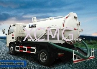 9.0L Special Purpose Vehicles, Vac Truck For Transporting Feces / Sludge / Screes