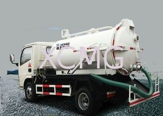 Useful 5T Special Purpose Vehicles , 6.5L Custom Vacuum Septic Pump Truck For Irrigation