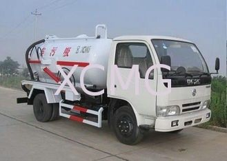High Efficient Special Purpose Vehicles , Sewage Pump Truck For City Environment Protection