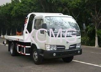 Durable 6 Tons Wrecker Tow Truck , Flatbed Breakdown Recovery Truck For Rescue Conditions