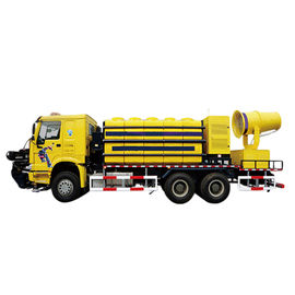 276kw Fog Cannon Dust Suppression Truck 120m Sinking Fogger Range 78km/H