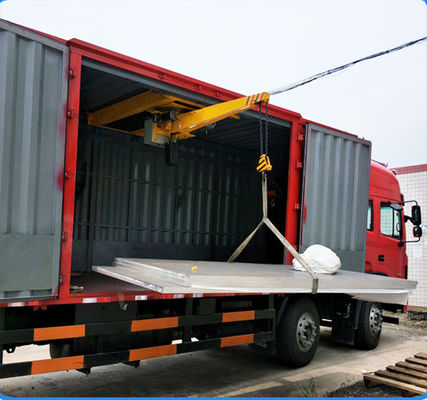 WXD Cantilever micro crane used in cargo truck